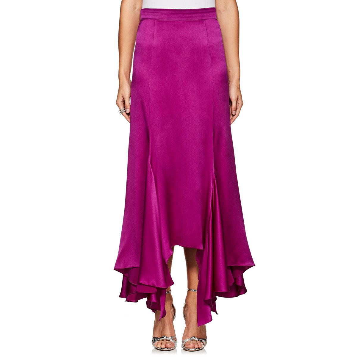 Splendid silk ruffle skirt Her panting/heavy