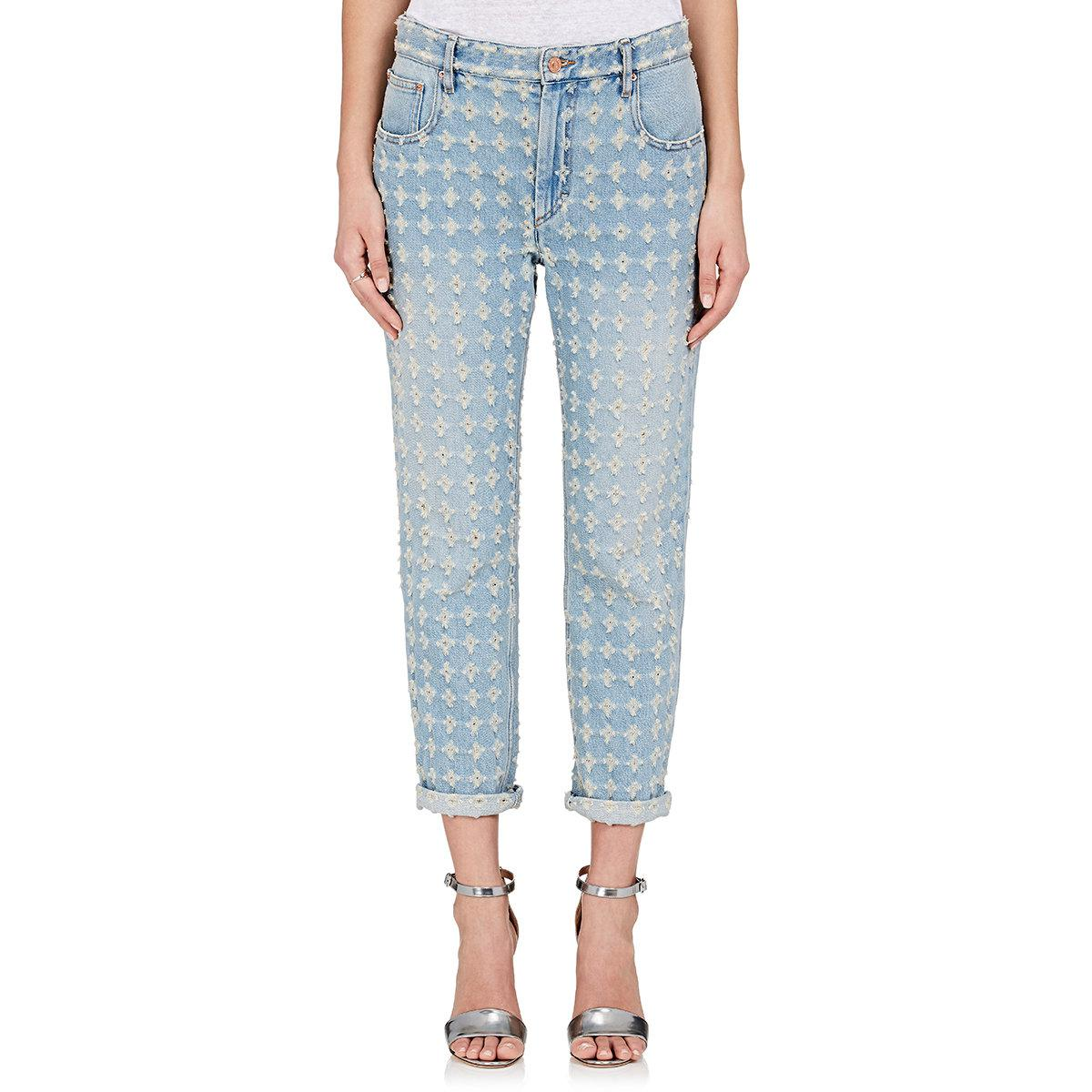 Corliff distressed jeans Isabel Marant Factory Price Cheap Price In China 4voWe