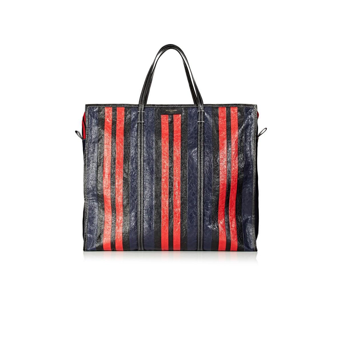 7c2e771dde3 Balenciaga Bazar Arena Leather Extra-large Shopper Tote Bag in Red ...