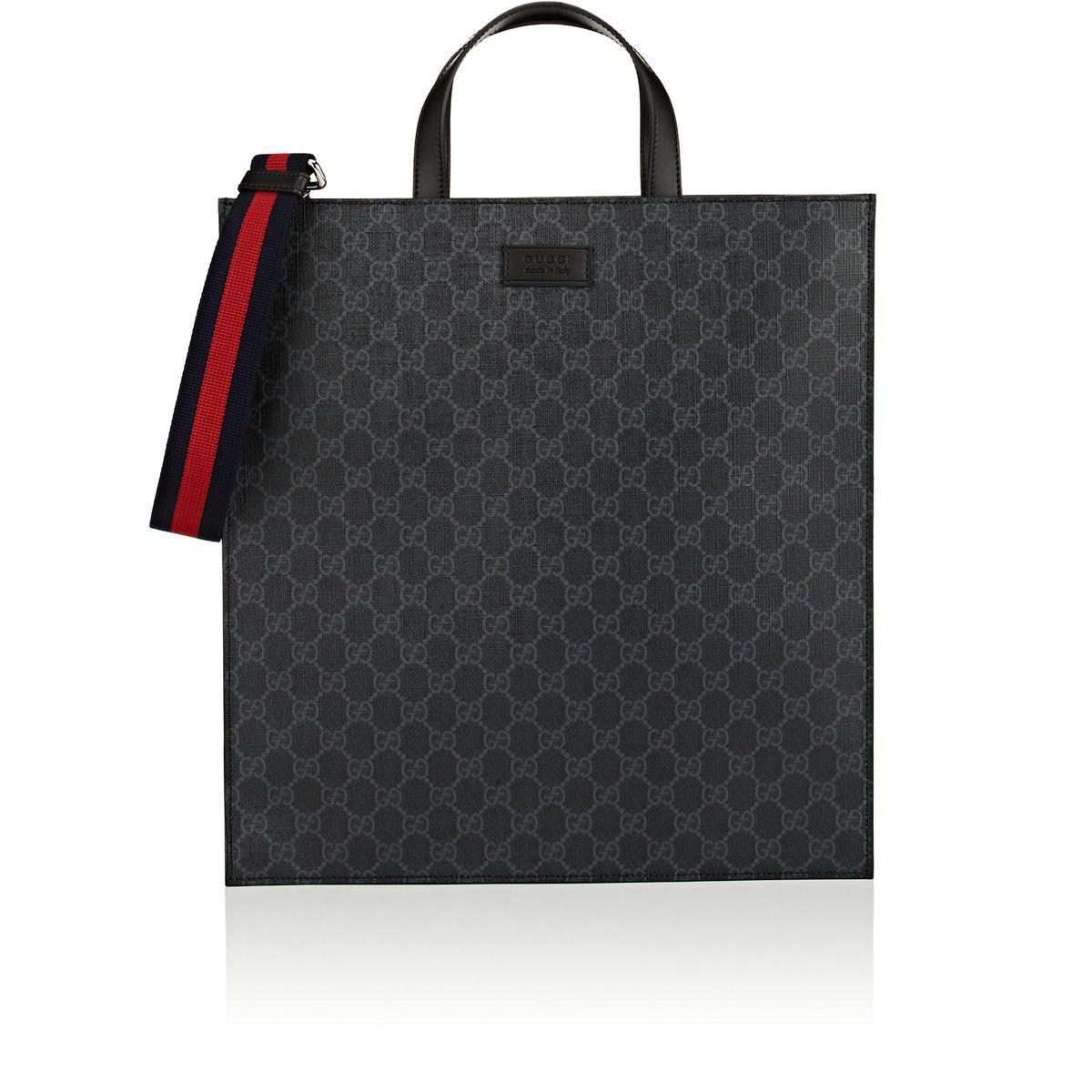 a30eebb76c0c8 Lyst - Gucci Gg Supreme Tote Bag in Black
