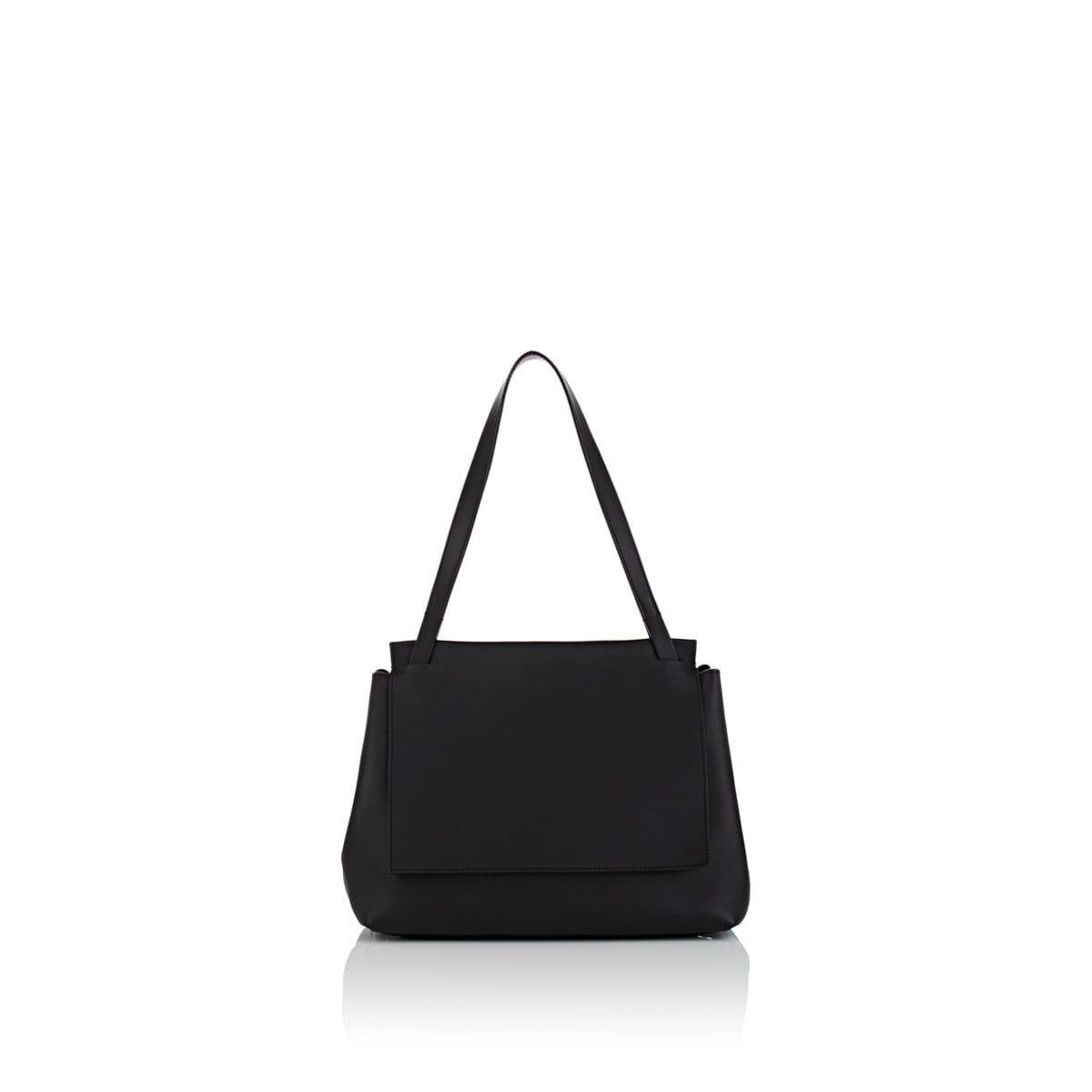 6e200dff1c5c Lyst - The Row Sidekick Two Leather Shoulder Bag in Black - Save 11%