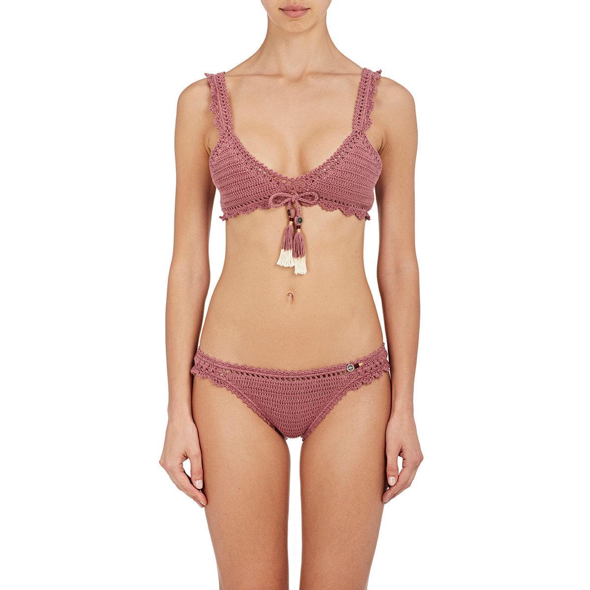Haut de bikini bandeau en crochet Amira Réduction Édition Limitée La Remise D'expédition Bas Vente Pas Cher Exclusive TaLdbIJmah
