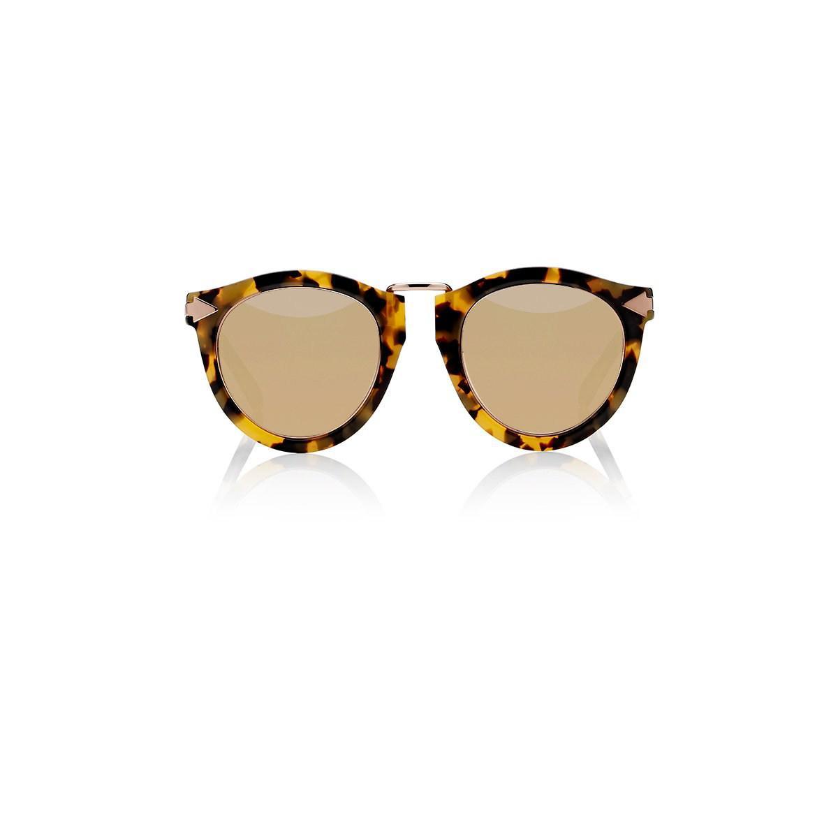 31516159f21 Lyst - Karen Walker Harvest Superstars Sunglasses in Brown