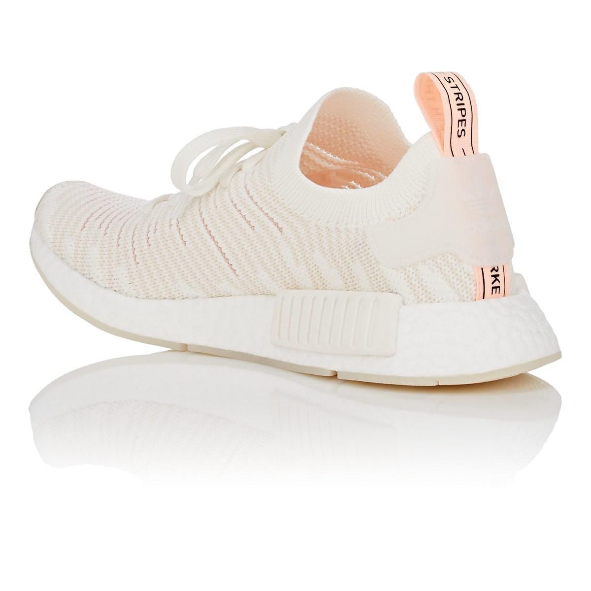 4f5b4e2ccad63 Adidas - White Nmd R1 Stlt Primeknit Sneakers - Lyst. View fullscreen