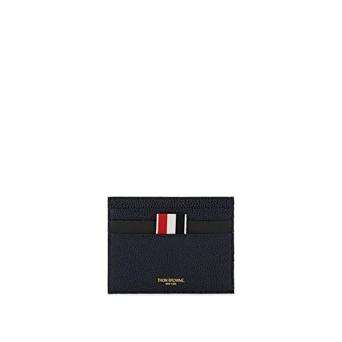 615c6838a47 Lyst - Thom Browne Note-compartment Leather Card Case in Blue for Men