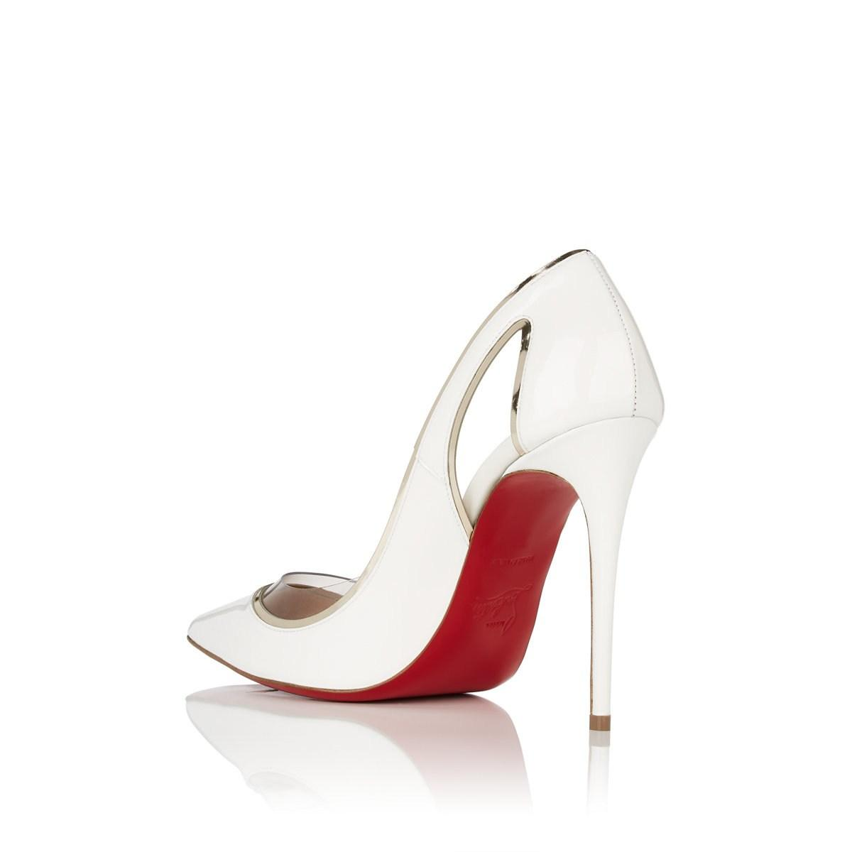 ed1f9afeaf3 Christian Louboutin - Multicolor Cosmo 554 Patent Leather   Pvc Pumps -  Lyst. View fullscreen