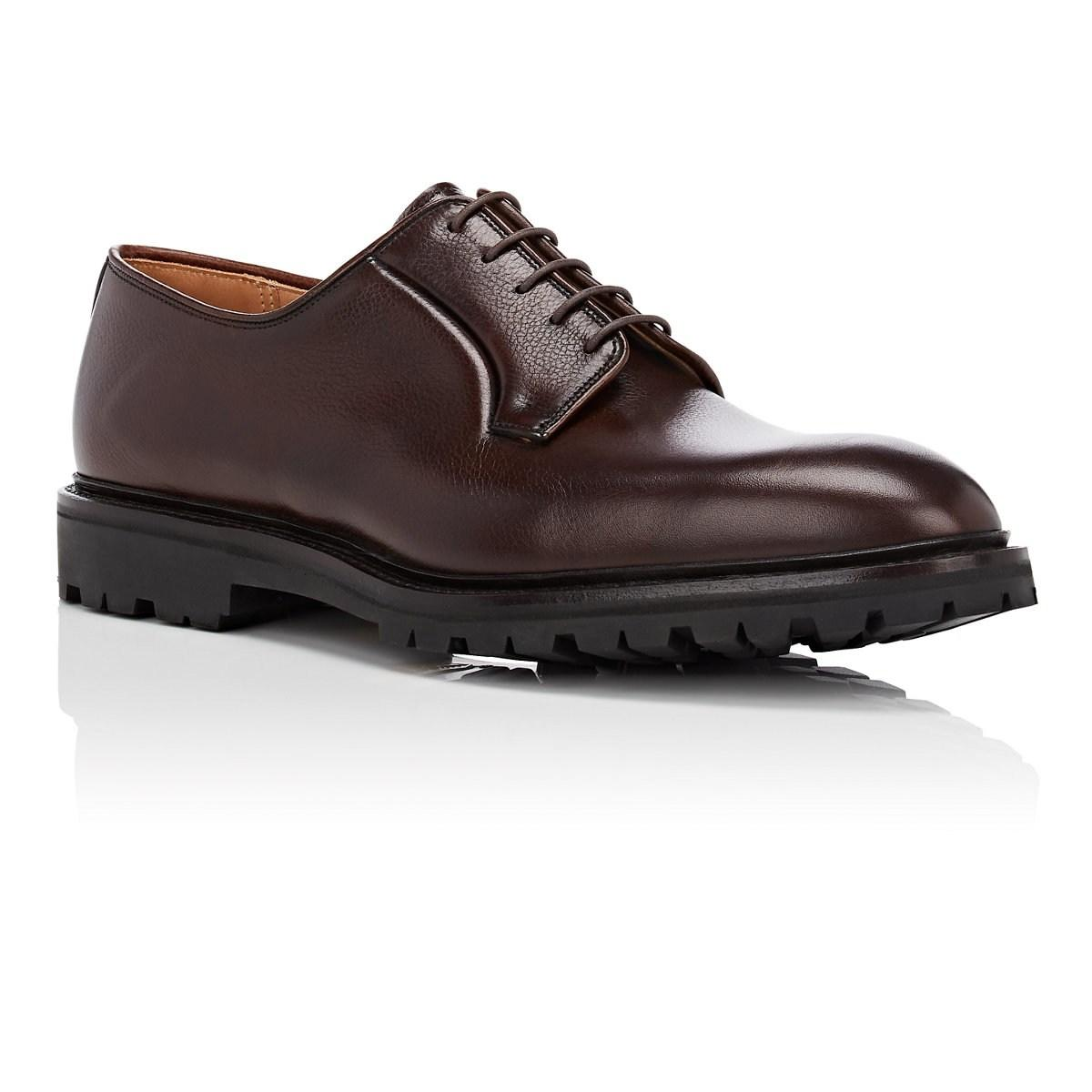 4ecdd84d20aec Crockett and Jones Lanark 2 Leather Bluchers in Brown for Men - Lyst