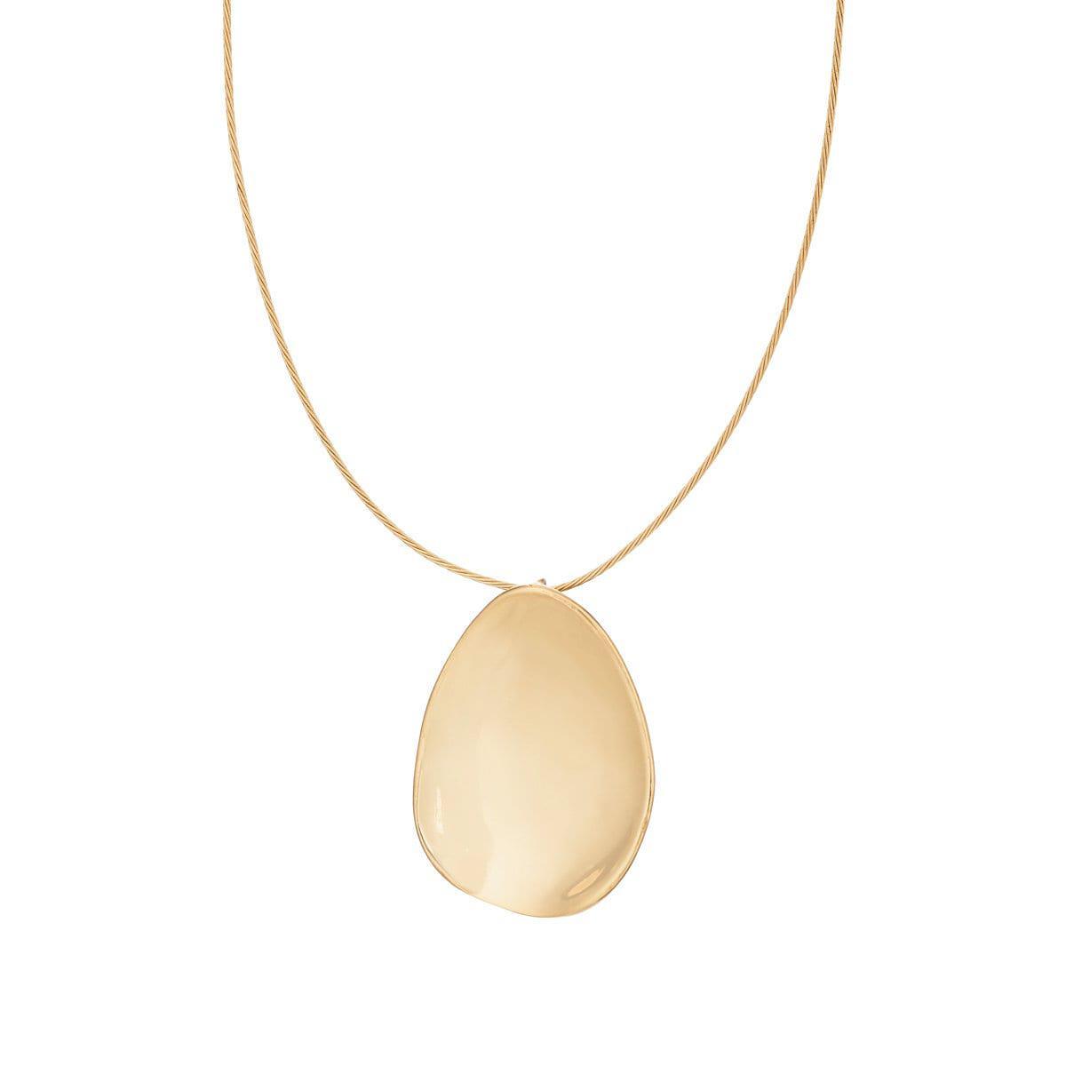 Viola.Y Jewellery Womens Petal Pendant Choker eOOzNtR
