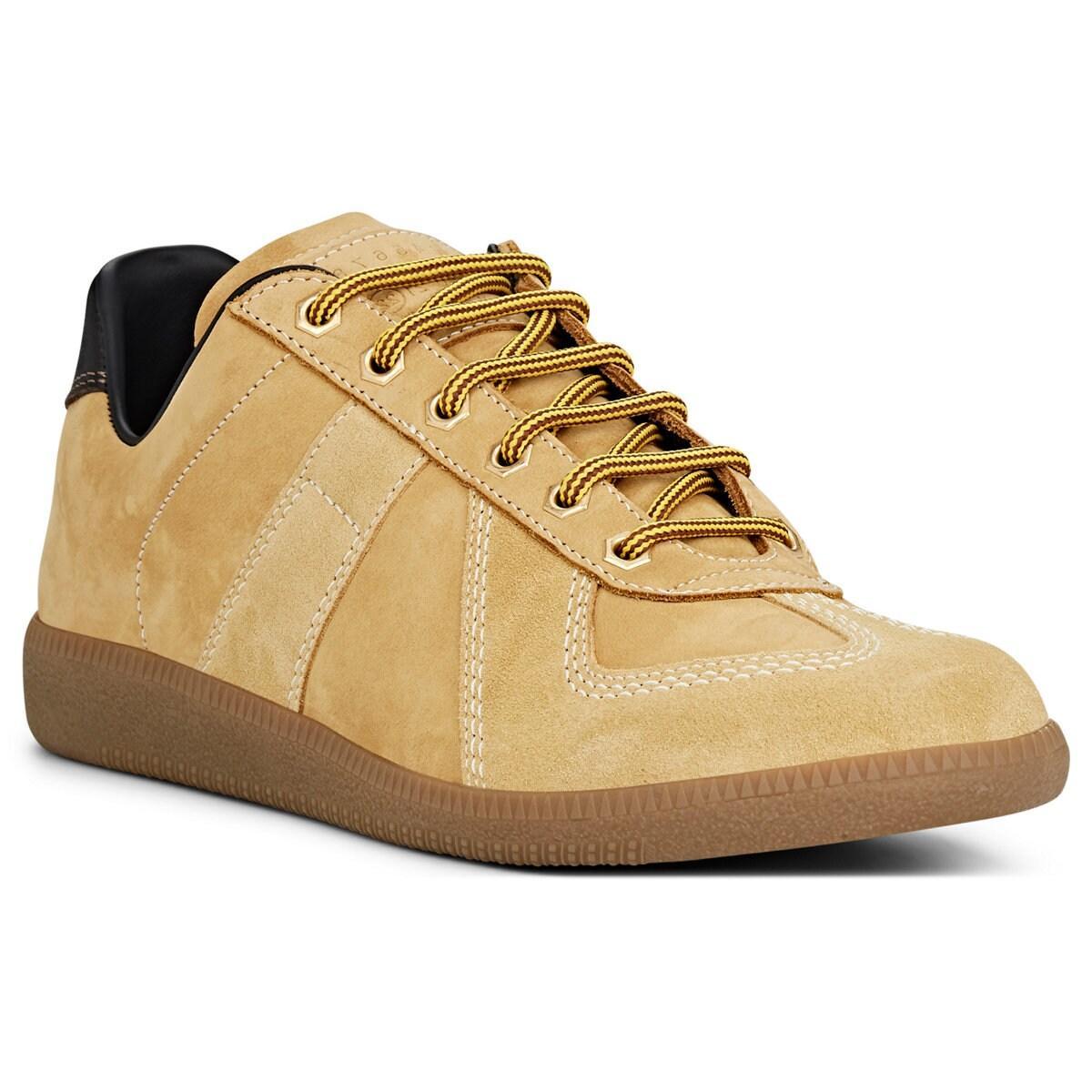 7b6437bd5c2 Men's Natural replica Nubuck & Suede Sneakers