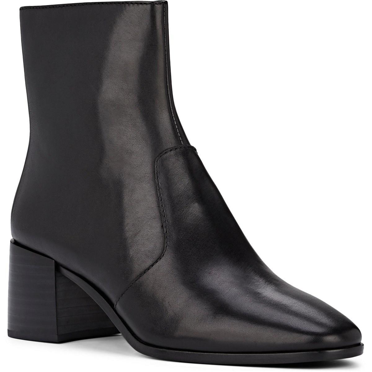 bc280cab8ac3 Loeffler Randall - Black Grant Leather Ankle Boots - Lyst. View fullscreen