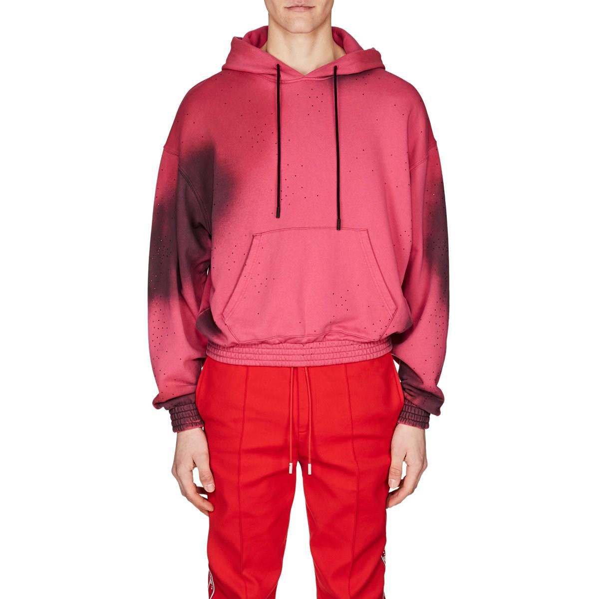 248d485b50b6 Off-White C O Virgil Abloh Cotton French Terry Hoodie in Pink for ...