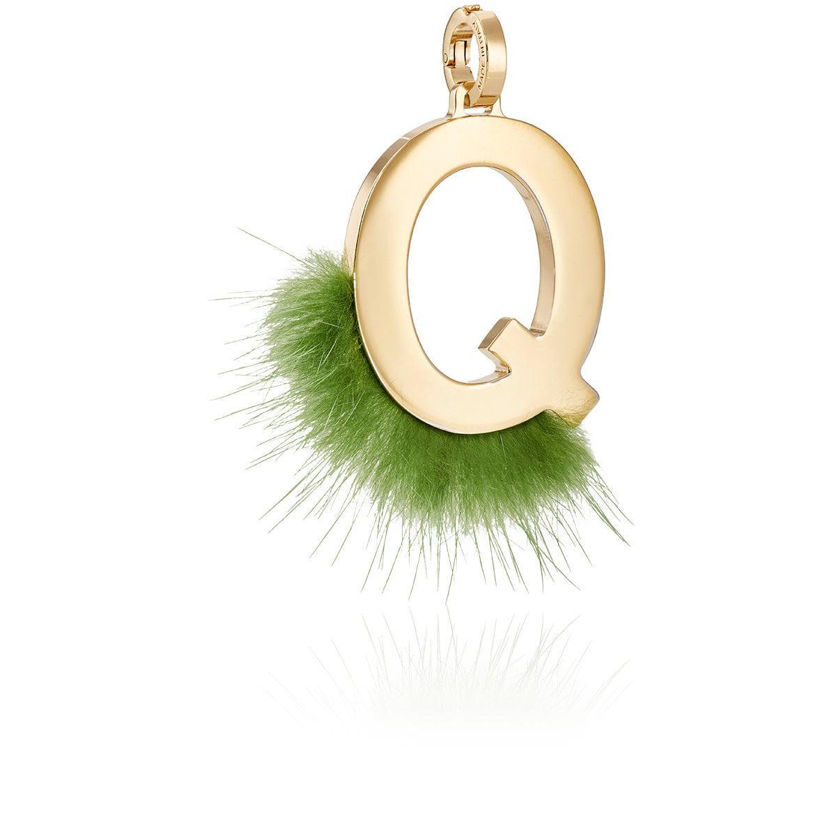 Fendi ABClick Q pendant charm - Green oOld2r5kK