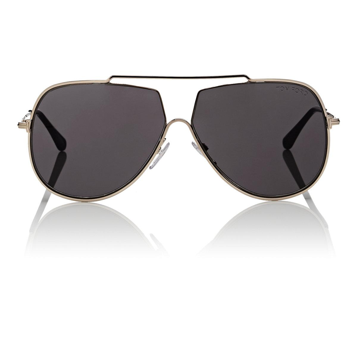 255707c82d1c Lyst - Tom Ford Chase Sunglasses in Metallic
