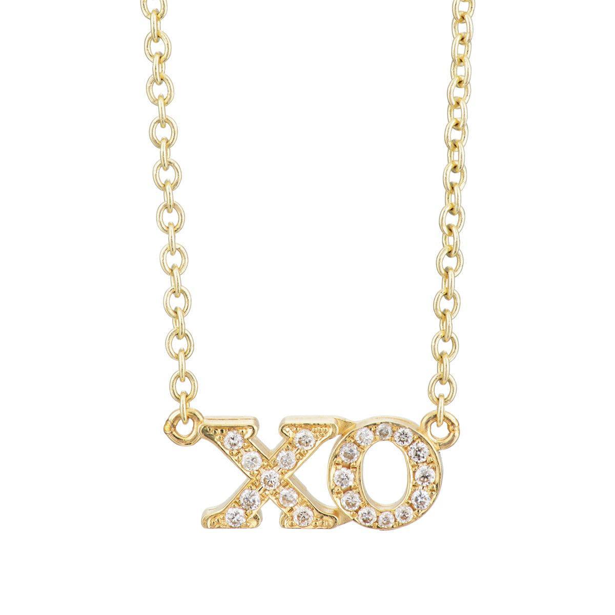 Jennifer Meyer Womens XO Charm Necklace oV2FSoqJP