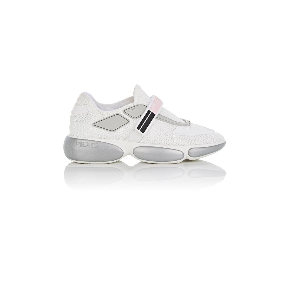 Buy Cheap Best Store To Get Buy Cheap In China Sneakers - Cloudbust Sneakers White/Silver - white - Sneakers for ladies Prada Fashion Style Sale Recommend Buy Cheap Top Quality oaXjRUZ