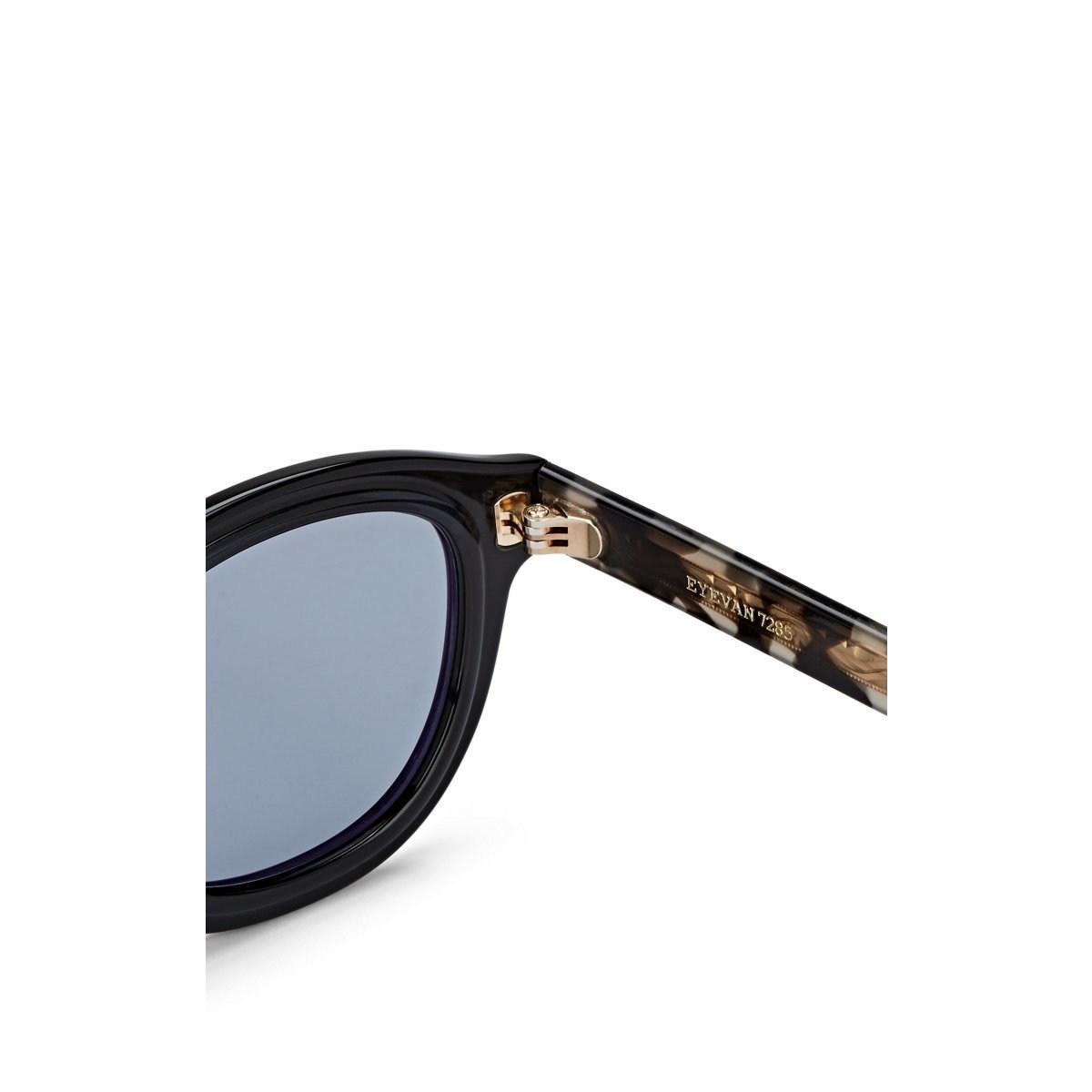 7e6f0fe41a Eyevan 7285 - Blue Model 314e Sunglasses for Men - Lyst. View fullscreen