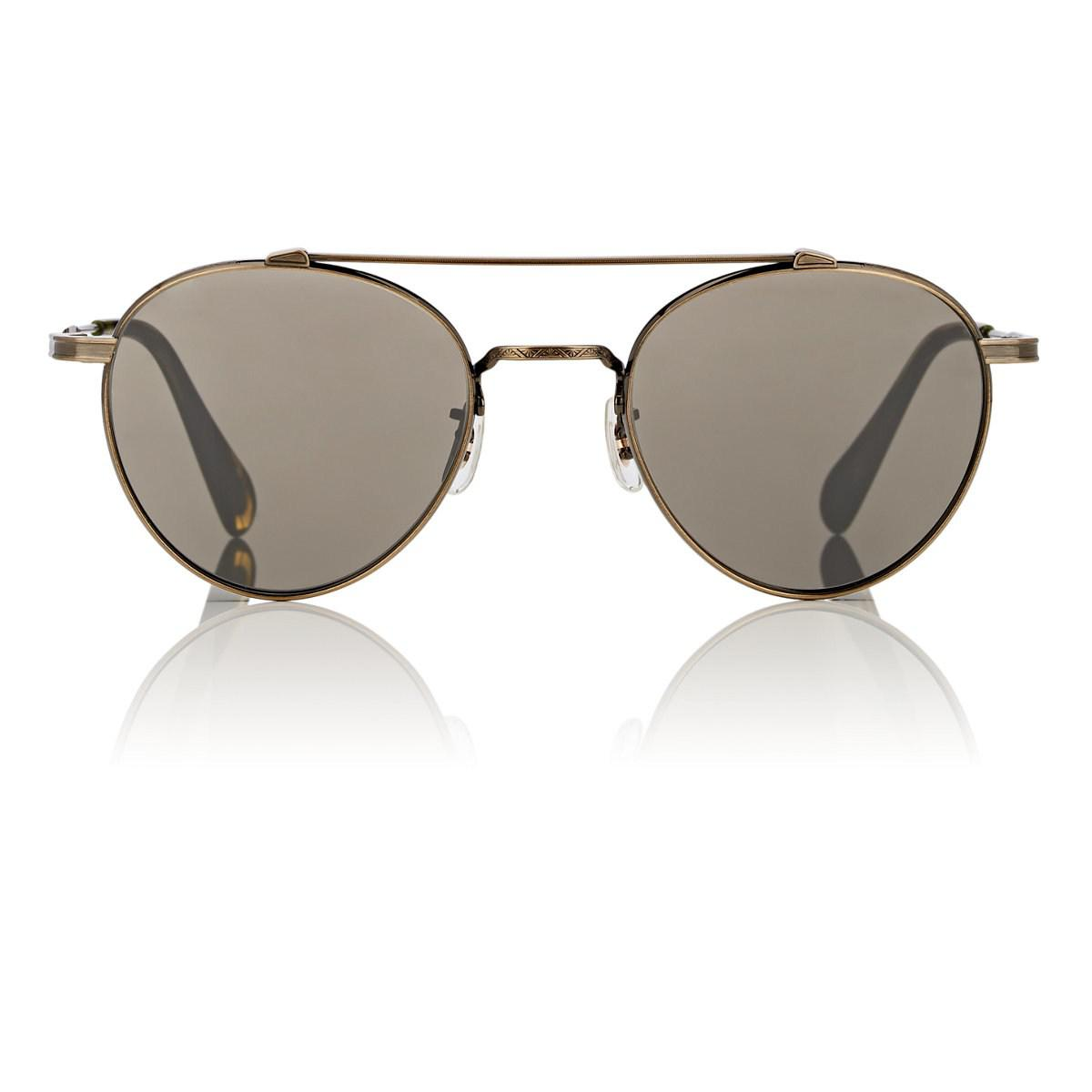 cecc8ba31d70d Oliver Peoples Watts Sun Sunglasses in Metallic for Men - Lyst