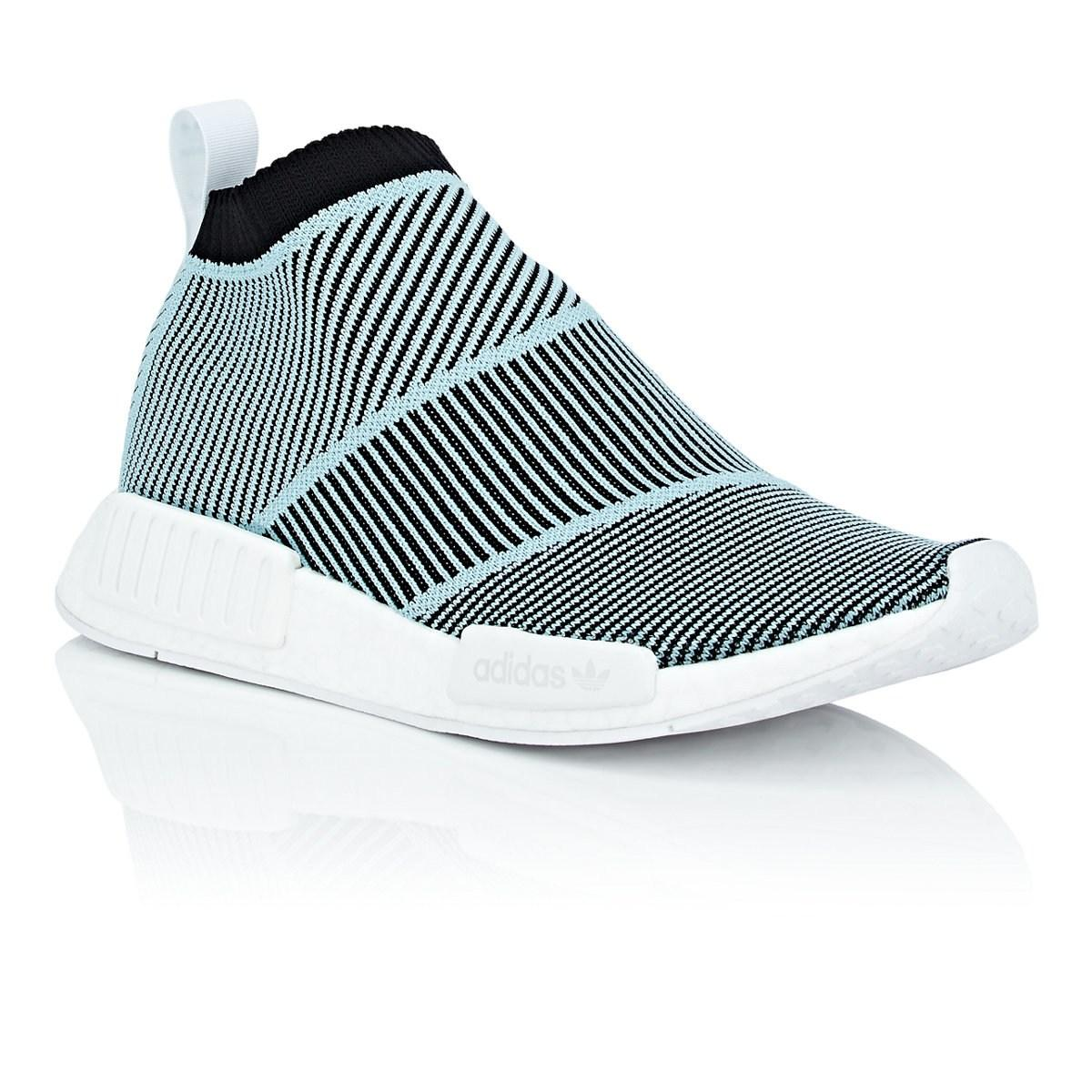 396e7492beee7 Adidas - Blue Nmd Cs1 Parley Primeknit Sneakers for Men - Lyst. View  fullscreen
