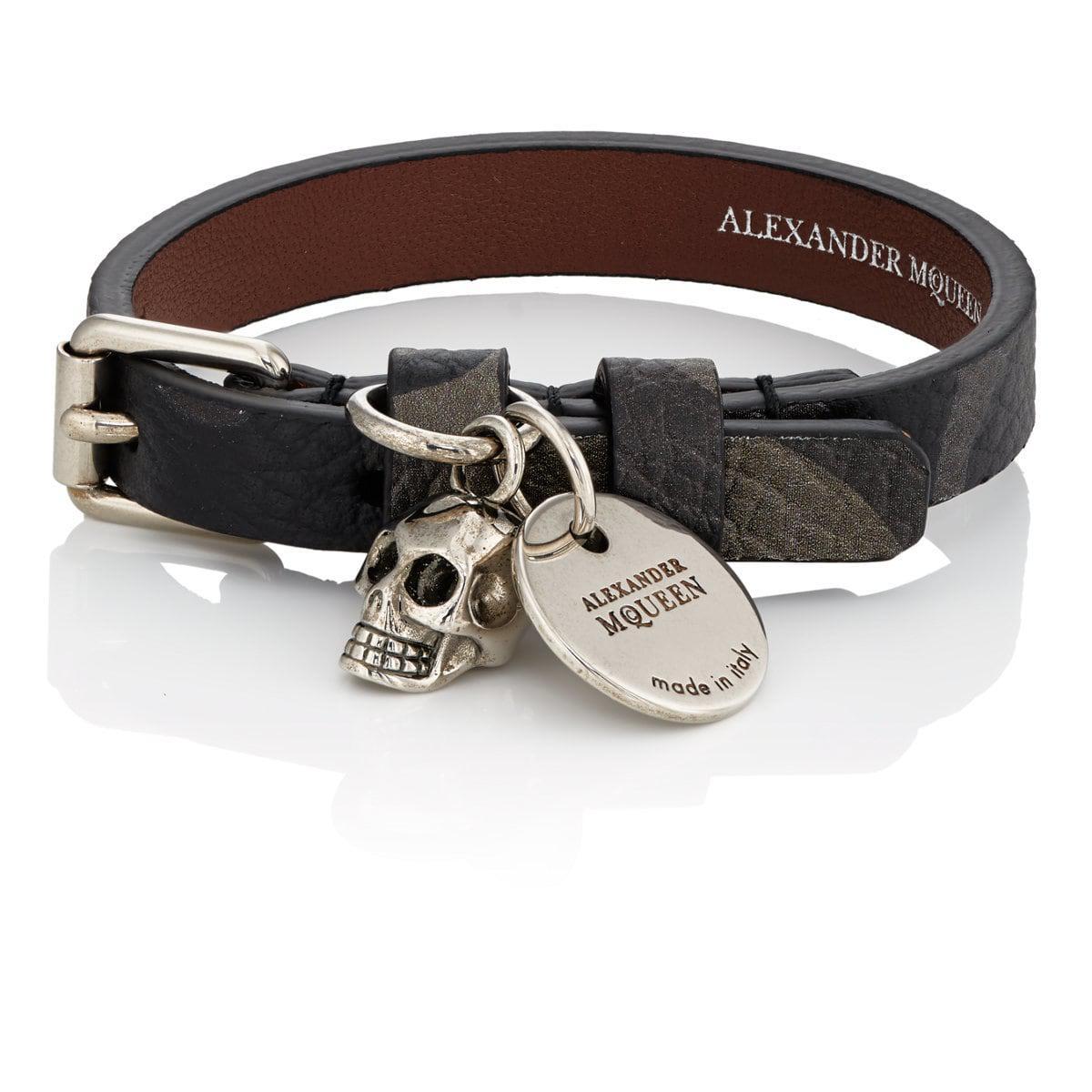 Alexander McQueen Mens Pioneer Wrap Bracelet 96pNL