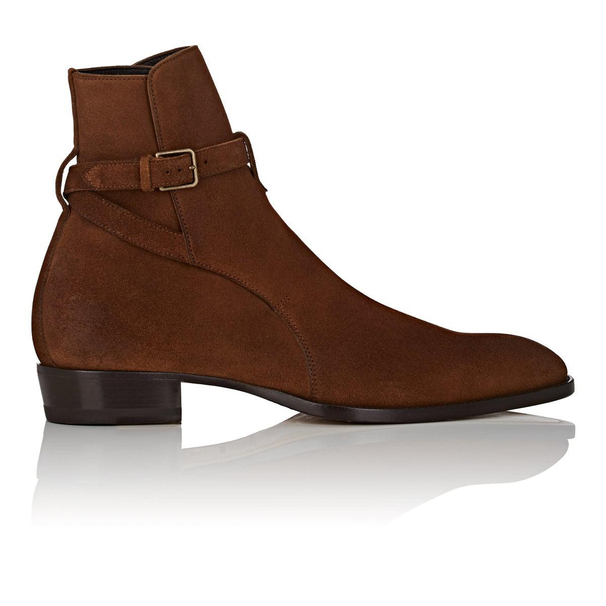 Cheap Sale Deals Wyatt Oiled-suede Harness Boots Saint Laurent Sale In China Clearance Finishline Cheap Sale Footlocker Pictures Outlet 2018 New RJ8c82