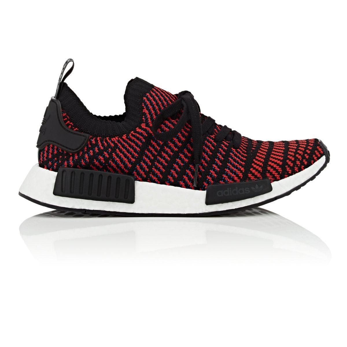 c23c351e9 Adidas - Multicolor Nmd r1 Stlt Pk Primeknit Black red Solid-blue Running  Shoes Cq2385