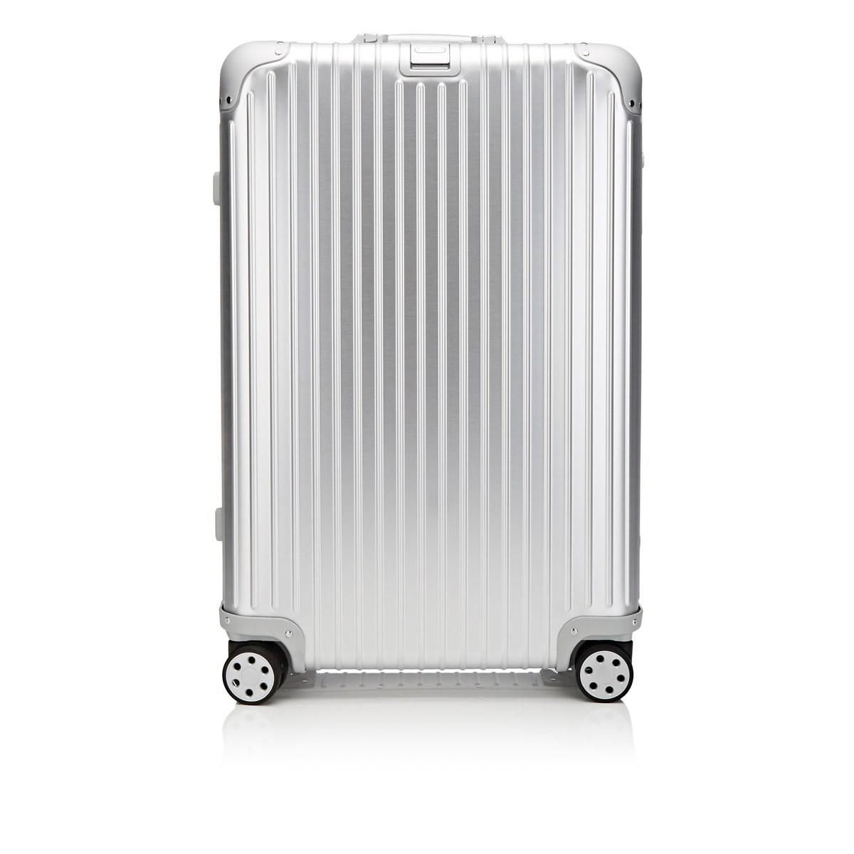 ac6a8c22a Rimowa Topas 26 Multiwheel® Suitcase in Metallic for Men - Lyst