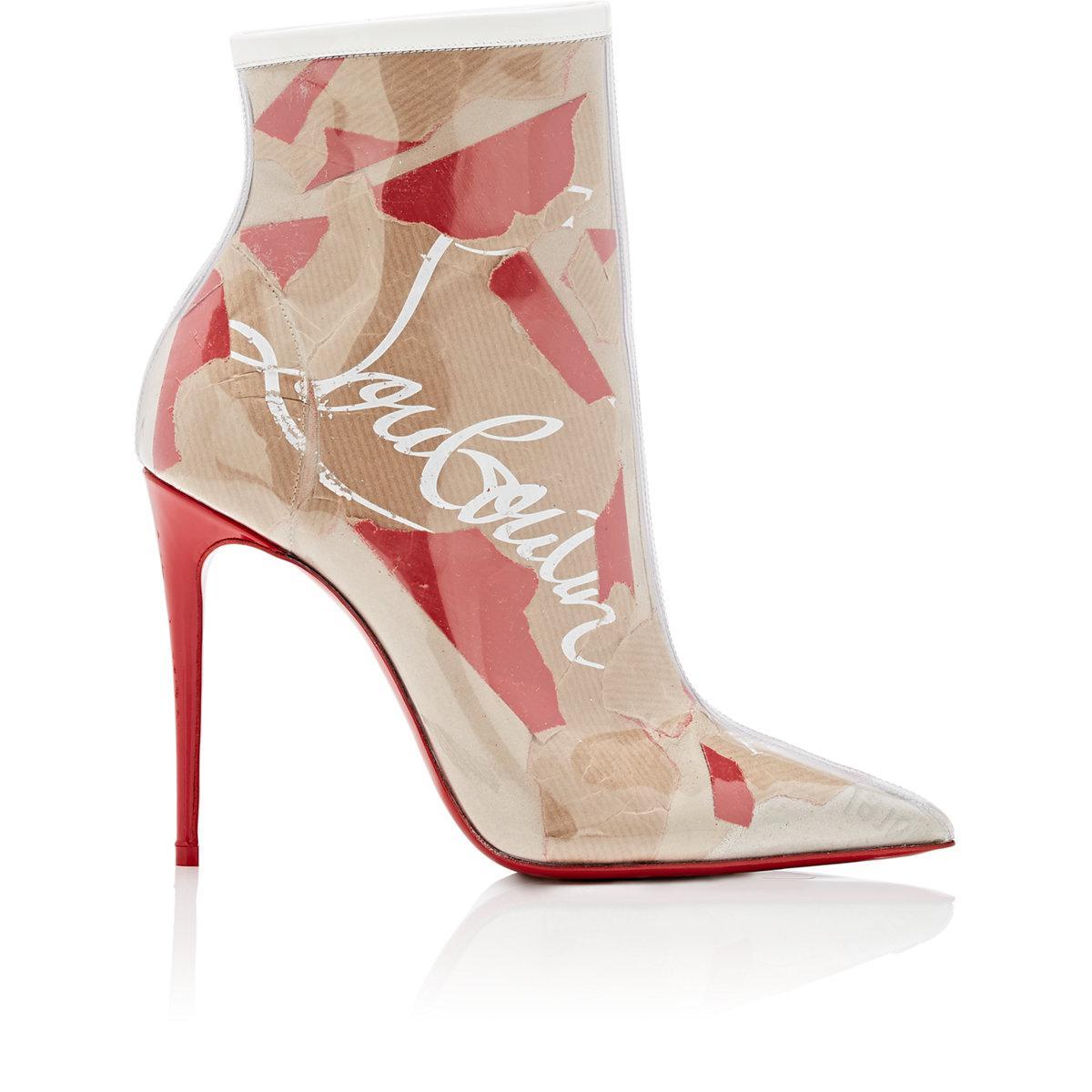 So Kate 100 Loubi Kraft Beige Multicolor Boots Christian Louboutin lNj08Pgl