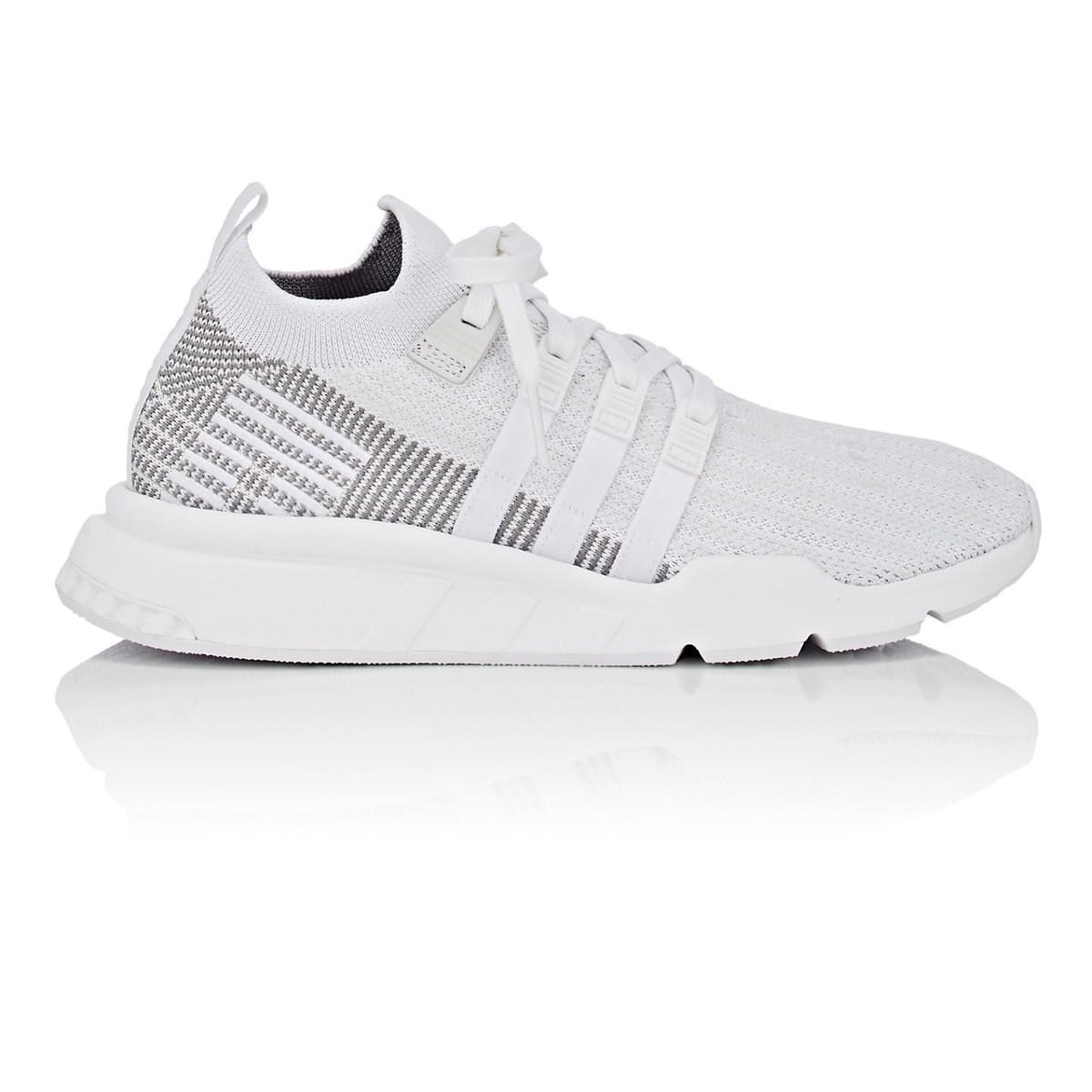 on sale 4cae0 03cf7 adidas Eqt Support Mid Adv Primeknit Sneakers in White for M