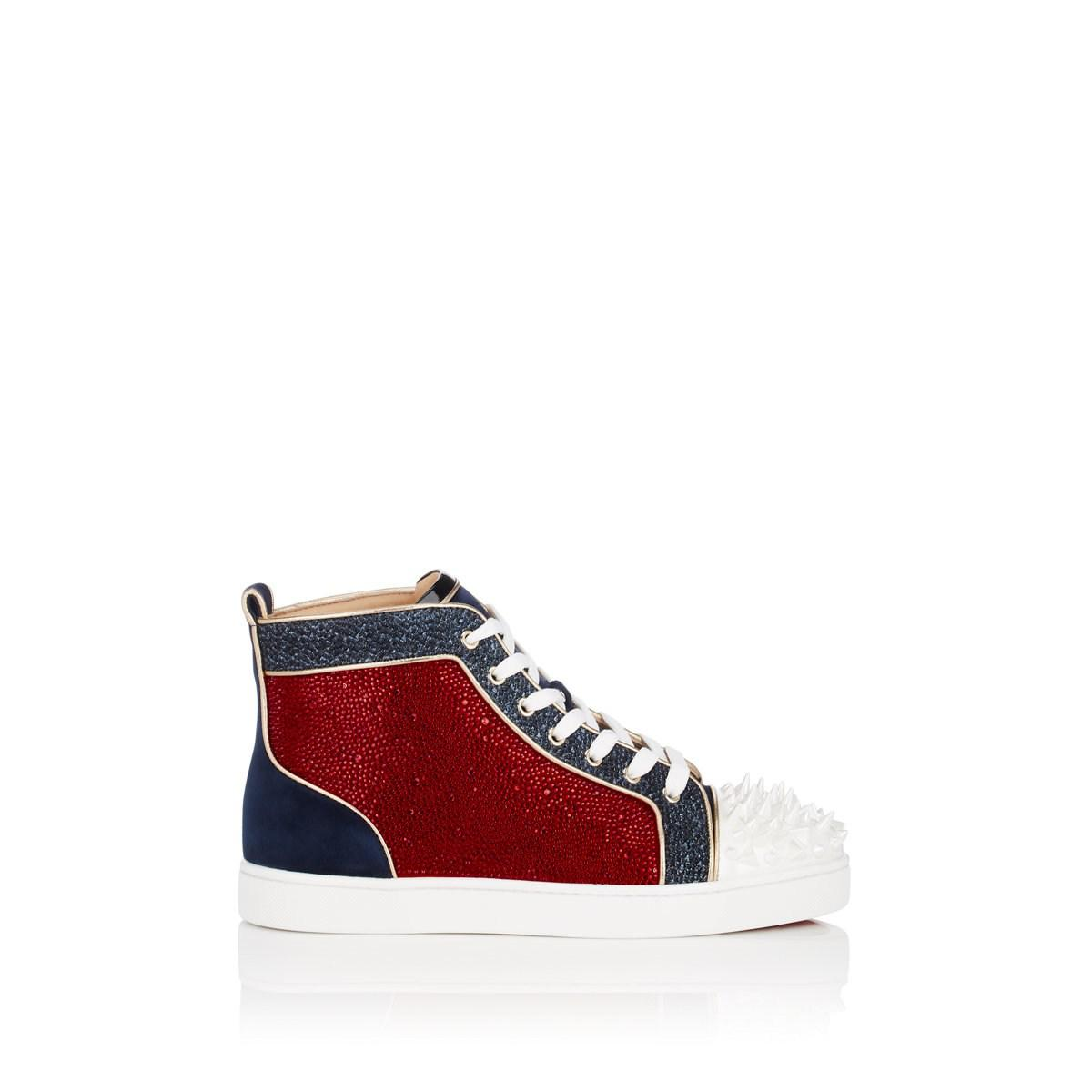 a3e05f1aec0 Christian Louboutin No Limit F18 in Red for Men - Lyst