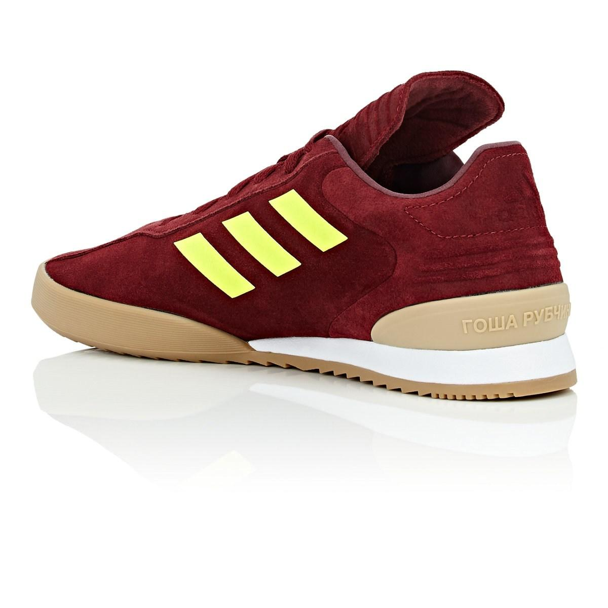best service 200a4 f01e5 Gosha Rubchinskiy - Red Copa Super Suede Sneakers for Men - Lyst. View  fullscreen