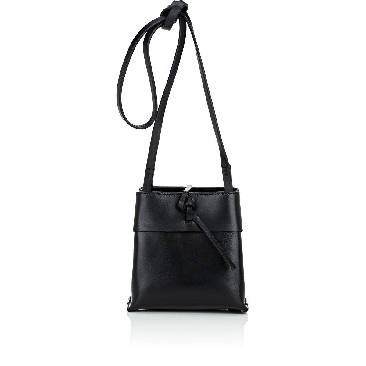 Womens Nano Leather Crossbody Bag Kara FNOTo2p
