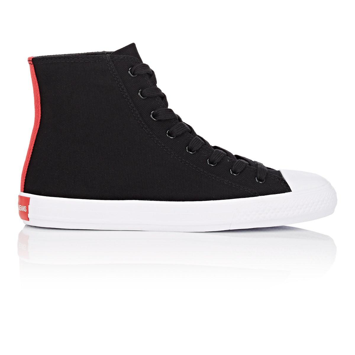 Calvin Klein Canvas Canter High-Top Sneakers Sale Free Shipping Discount Clearance Store Discount Cheap Online 6UfT1m0