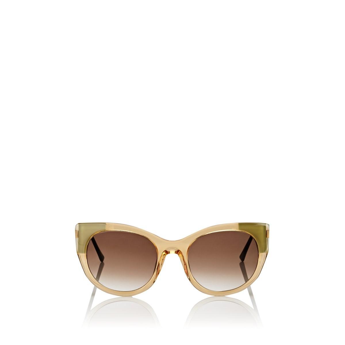 8423712eca Lyst - Thierry Lasry Bunny Sunglasses in Metallic
