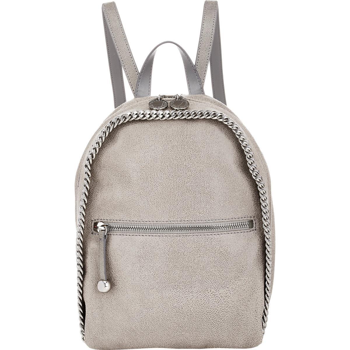 b7e92587f80e Lyst - Stella McCartney Falabella Shaggy Deer Mini-rucksack in Gray
