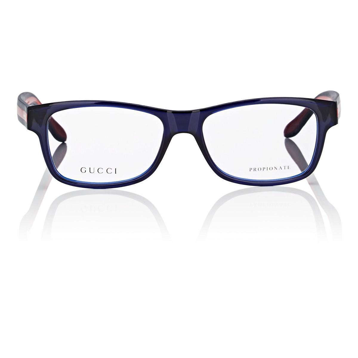 1037cad9fda Lyst - Gucci Gg1046 Eyeglasses in Blue