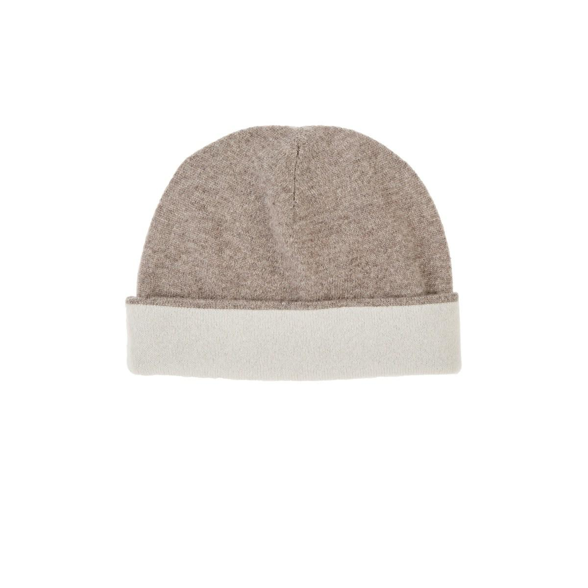 c5ae0e34032 Barneys New York Double-faced Cashmere Hat in Natural - Lyst