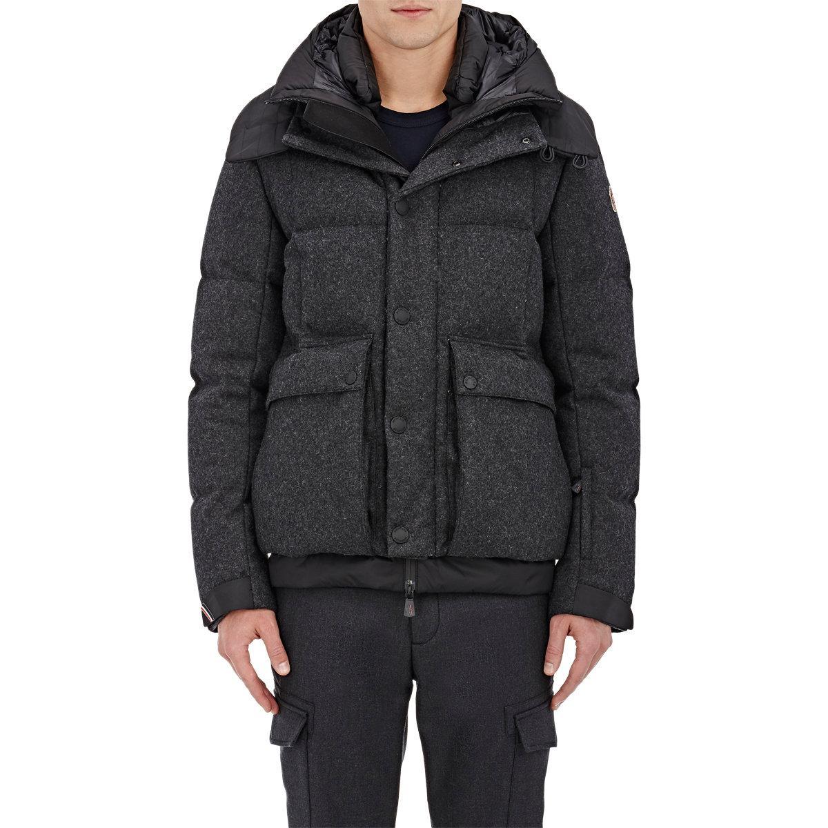 1de9804e2 Lyst - Moncler Grenoble Valmorel Wool in Gray for Men