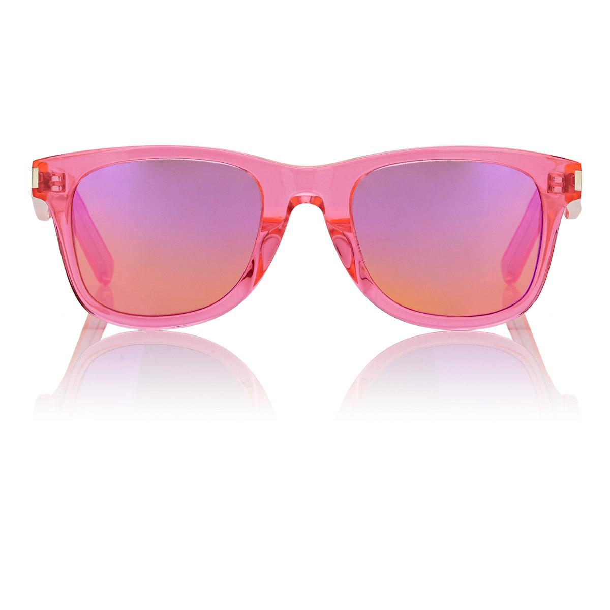 94139e6066 Lyst - Saint Laurent Sl51 Surf Sunglasses in Pink
