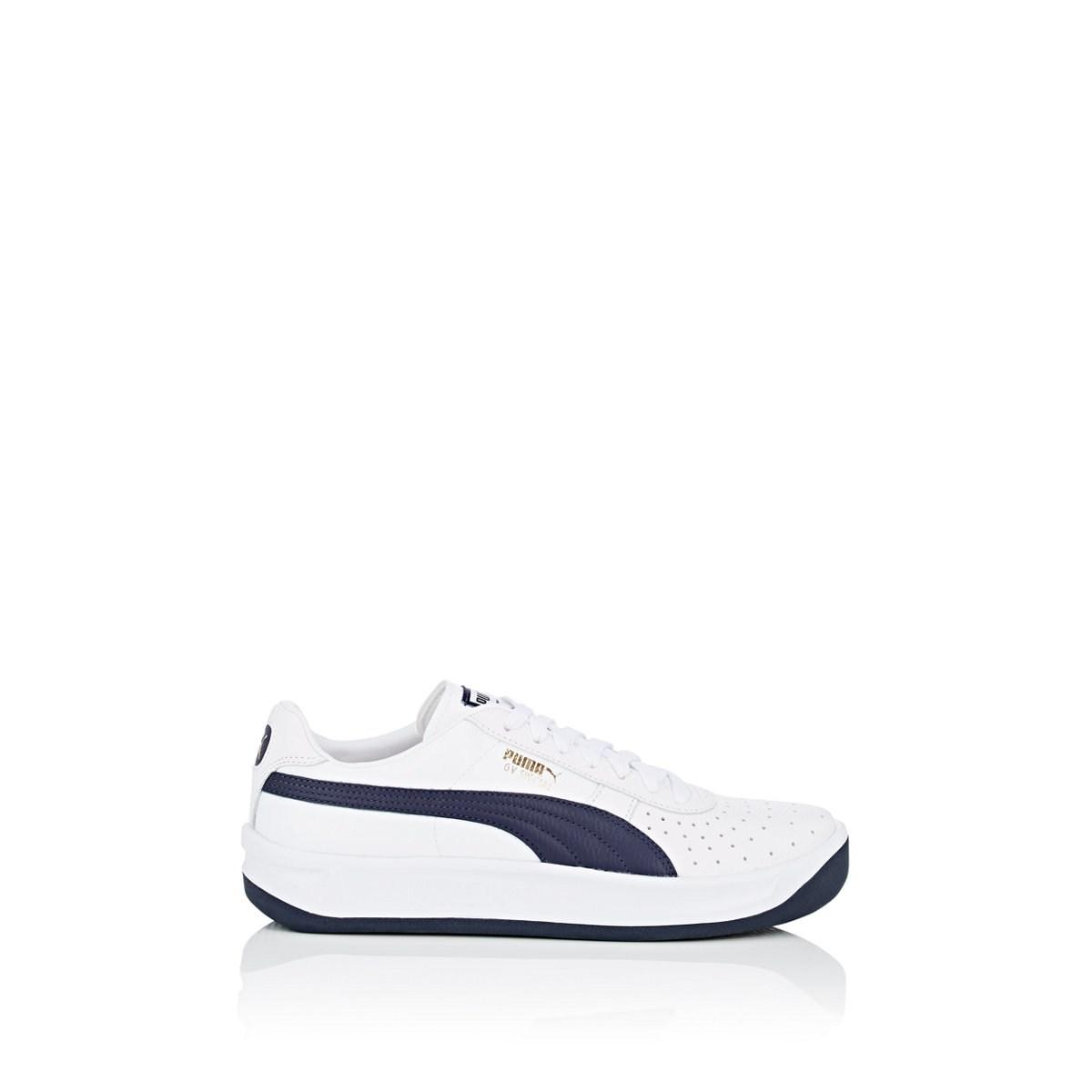 59e265f2f4d Lyst - PUMA Gv Special Leather Sneakers in White for Men