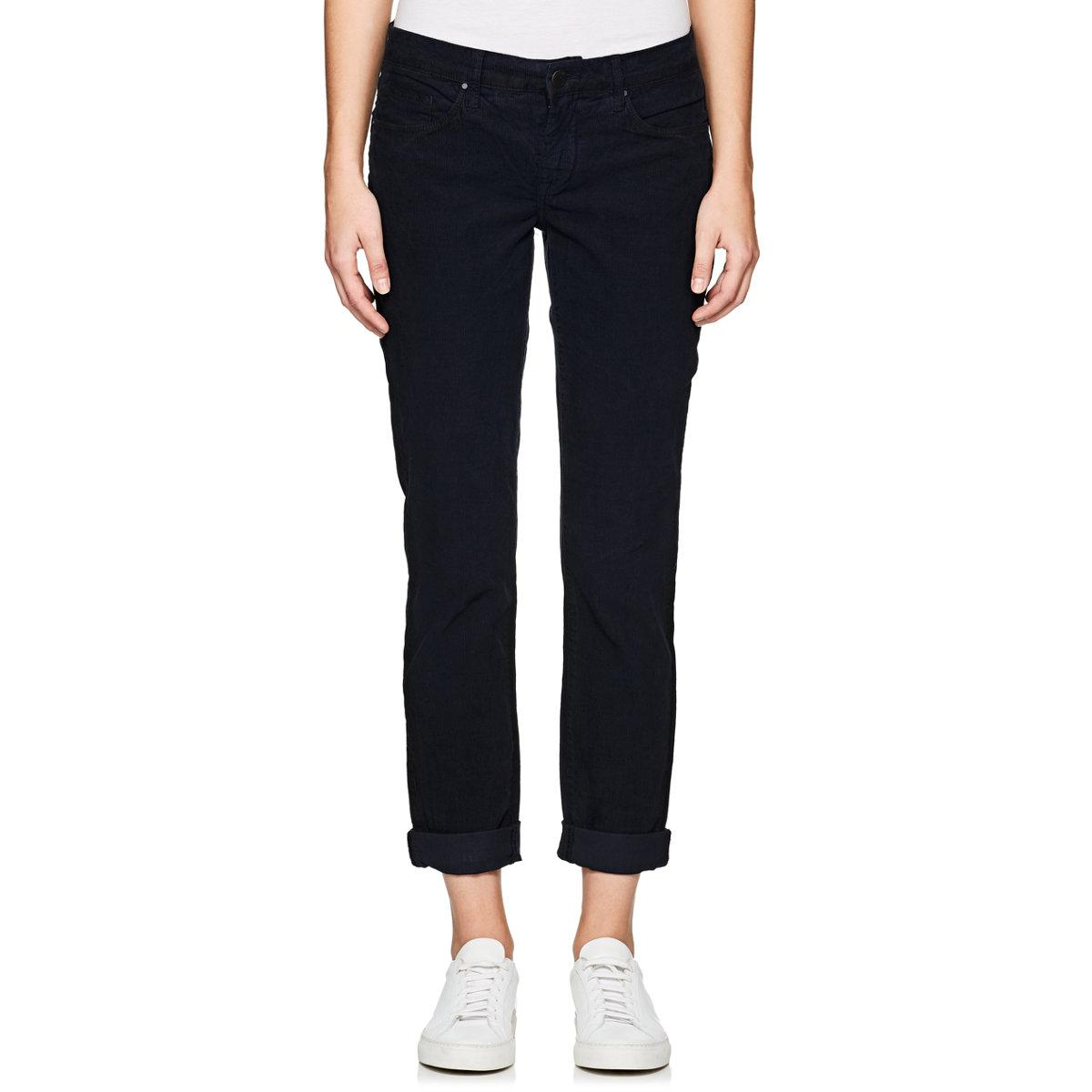 Womens Skinny Boy Stretch-Cotton Corduroy Trousers Blank NYC Free Shipping Browse W5J4BR3gKl