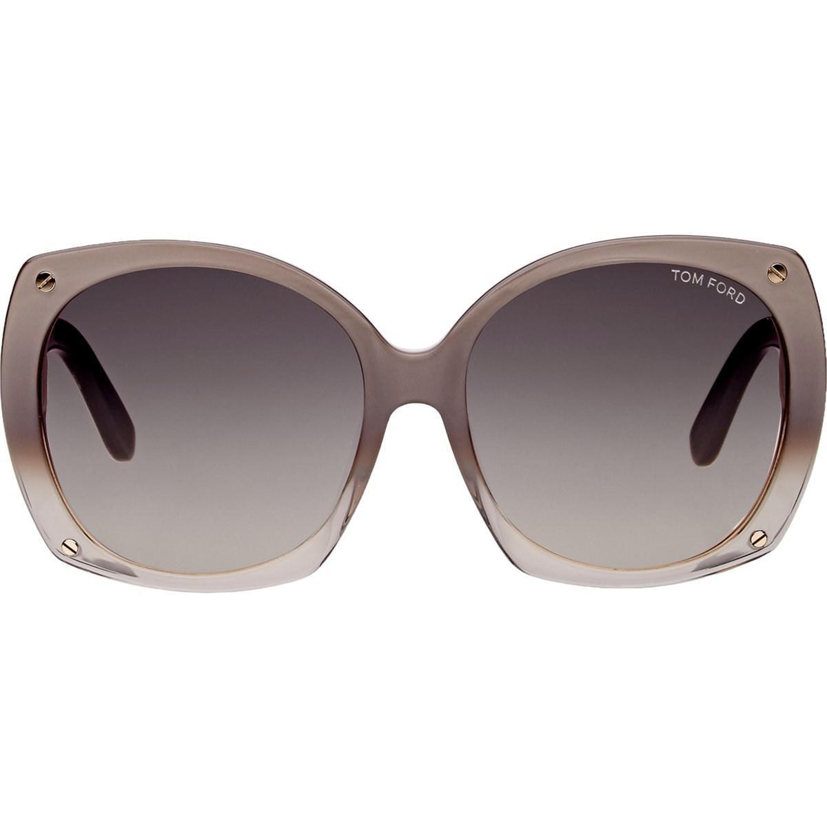 68889ba0d37d Lyst - Tom Ford Gabriella Sunglasses in Gray