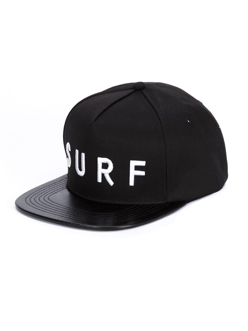 Lyst Stampd Surf Baseball Cap In Black For Men