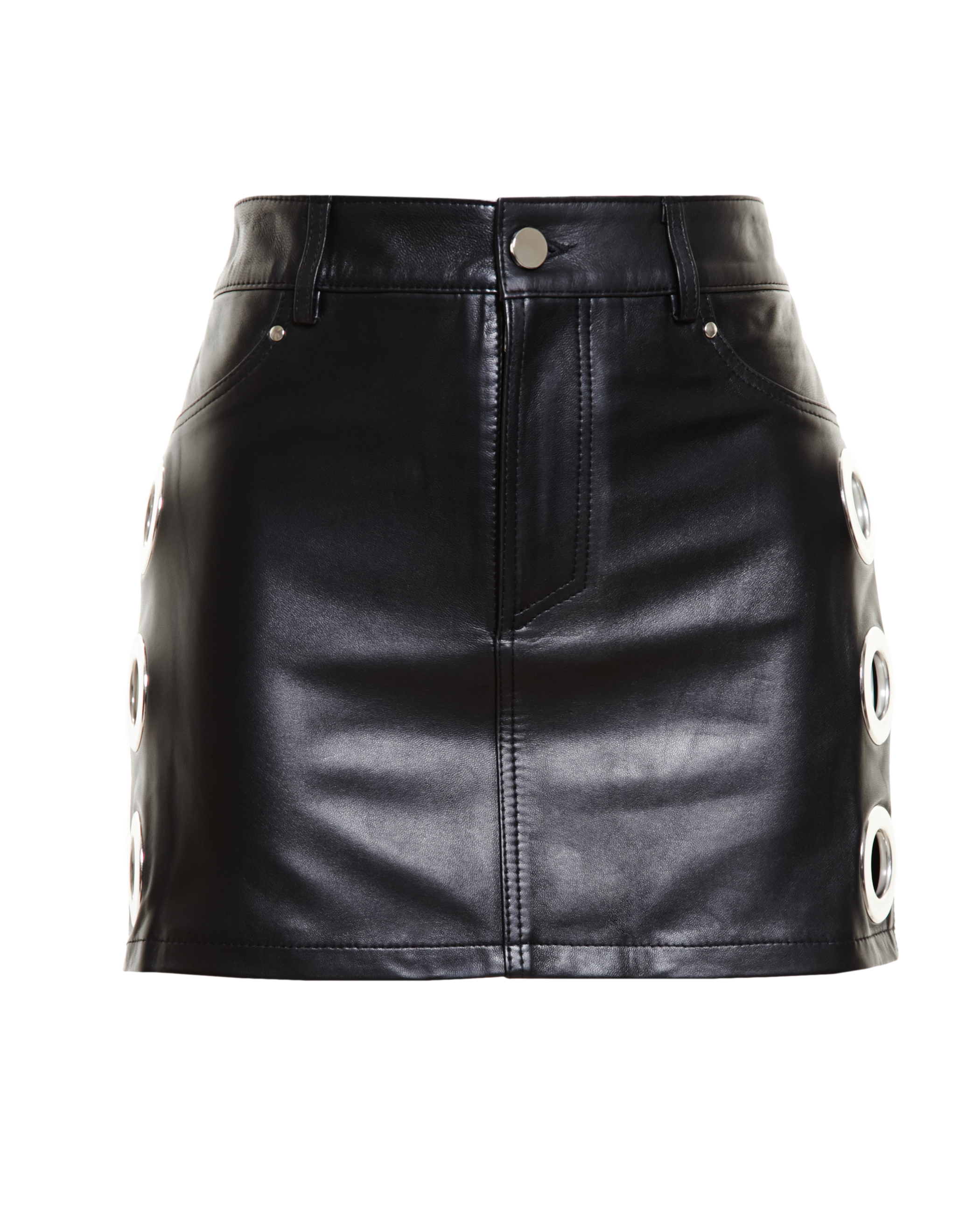 76e5f75dc8 Gallery. Previously sold at: Browns · Women's Leather Skirts Women's Black  ...