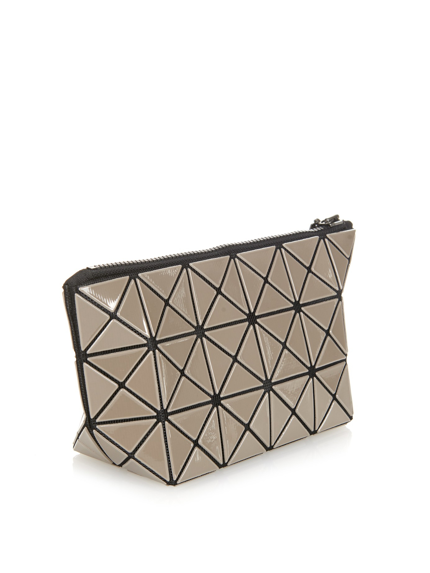 Lyst - Bao Bao Issey Miyake Lucent Basic Cosmetics Case in Gray 7347863d28