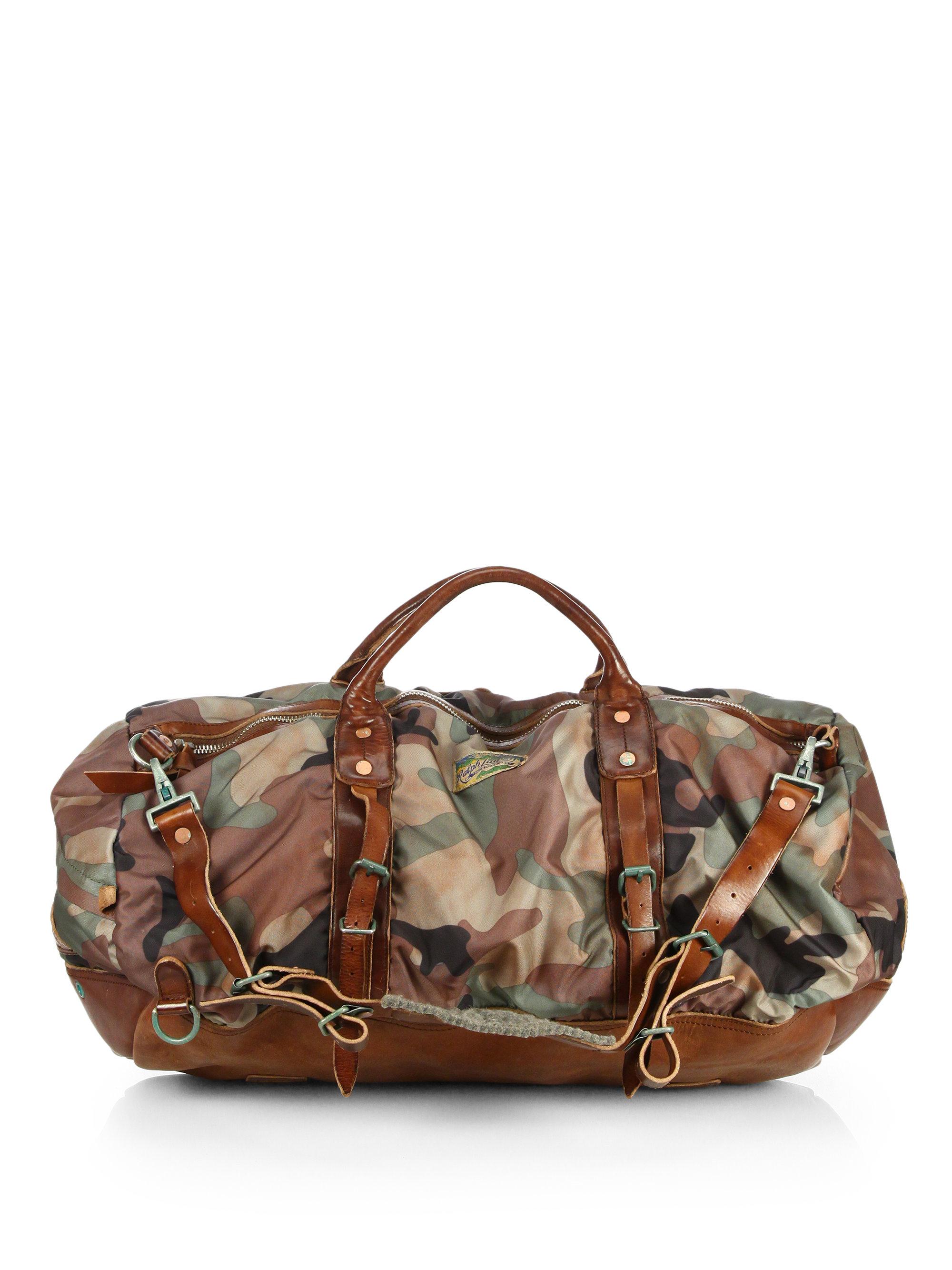 72e0dfd0b4 Lyst - Polo Ralph Lauren Yosemite Nylon Duffel Bag in Green for Men