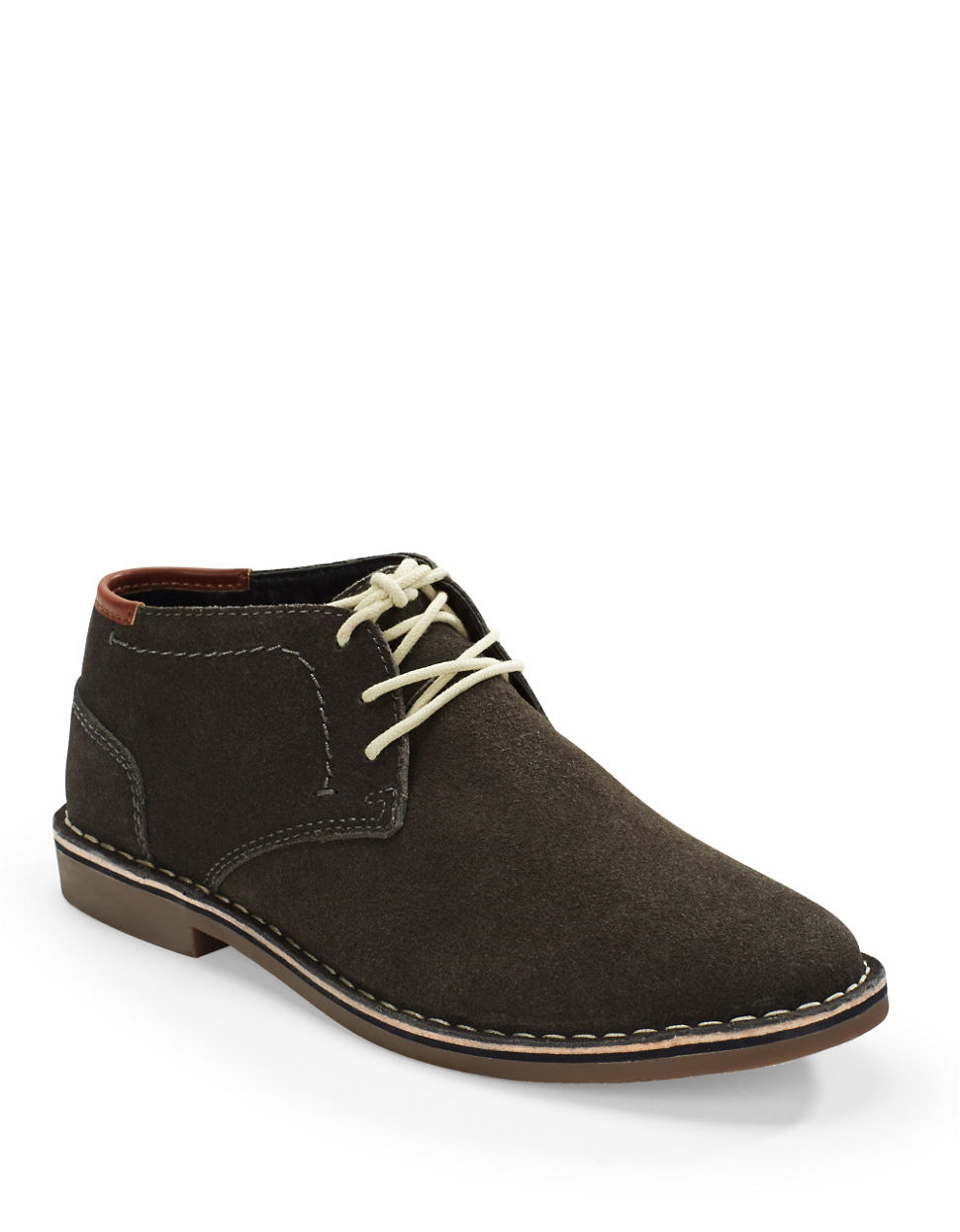 Lyst Kenneth Cole Reaction Desert Sun Leather Shoes In