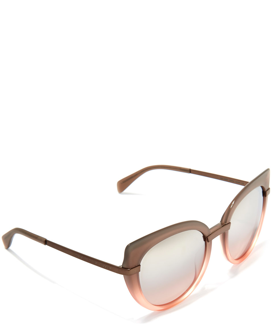 Marc Jacobs Cat Eye Sunglasses  marc jacobs blush pink cat eye sunglasses in pink for men lyst