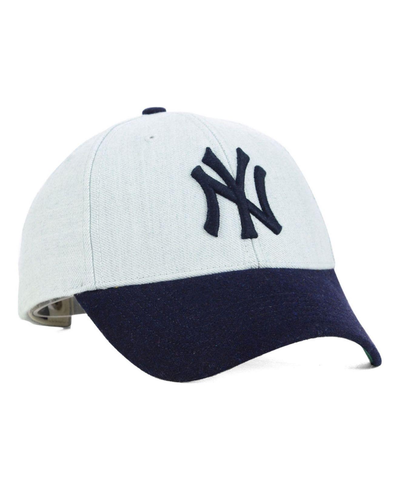 Lyst - 47 Brand New York Yankees Munson Mvp Cap in Gray for Men 4592e2ef93ac4