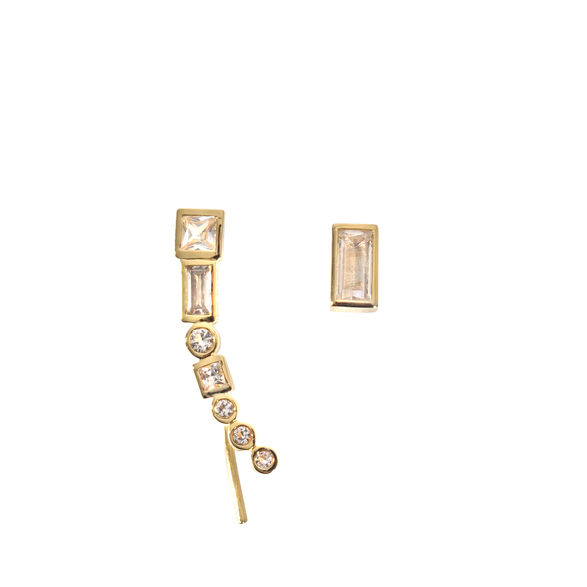 crystal rose enlarged and mismatched drop dior quartz earrings jewelry christian products