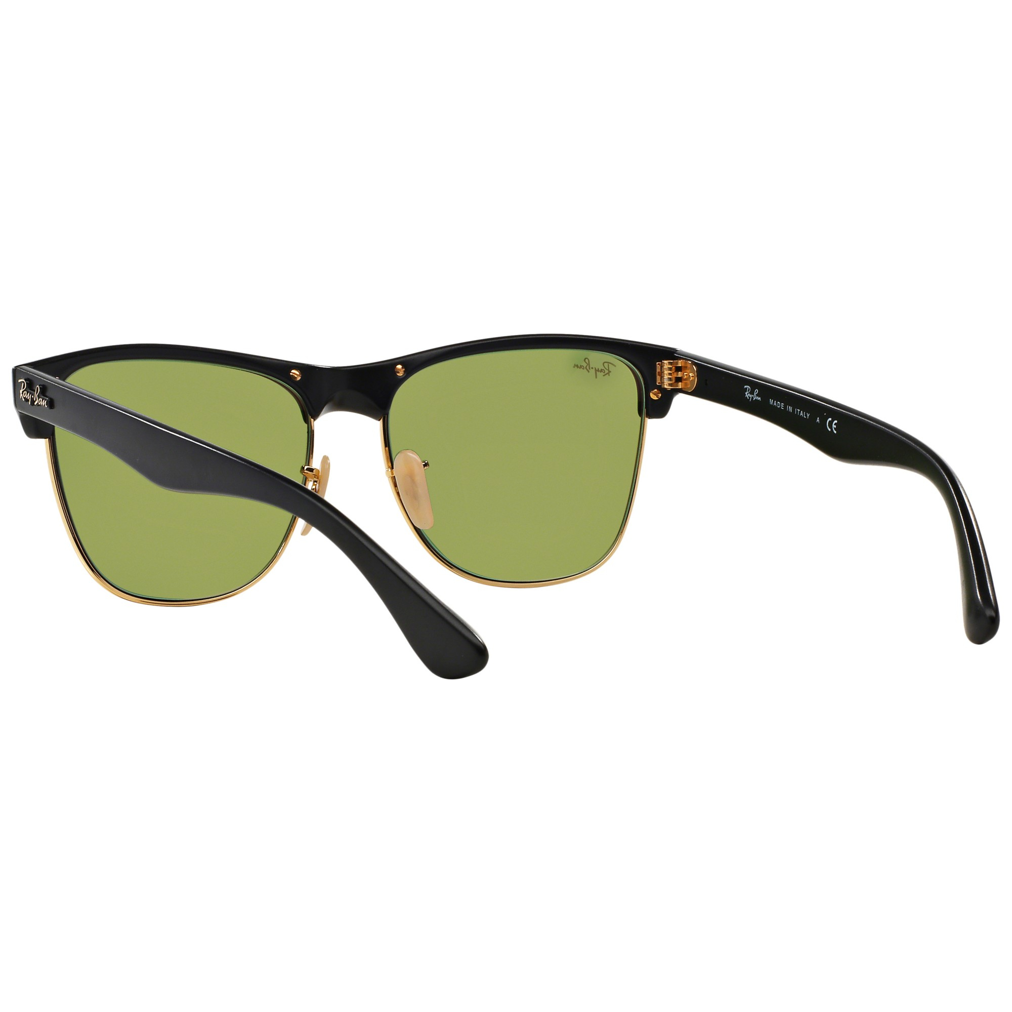 3d62b10942 Ray-Ban Rb4175 Clubmaster Oversized Sunglasses in Black - Lyst